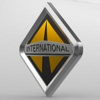 international logo 3D Model