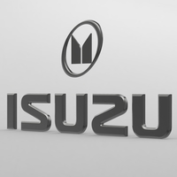 isuzu logo 3D Model