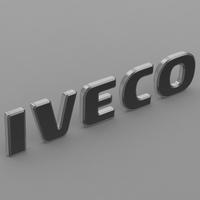 iveco logo 3D Model