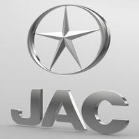 jac logo 3D Model