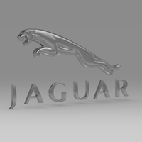 jaguar_logo 3D Model