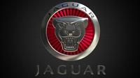 jaguar logo 2 3D Model