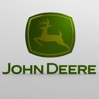 john deere logo 3D Model