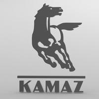 kamaz logo 3D Model
