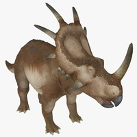 Styracosaurus Animated 3D Model
