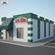 Papa John's Pizza Restaurant 02 3D Model