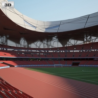 Beijing National Stadium 3D Model