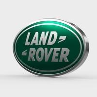 land rover logo 3D Model