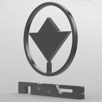 paz logo 3D Model