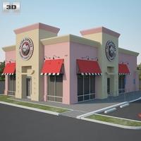 Panda Express Restaurant 01 3D Model