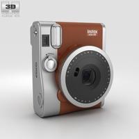 Fujifilm Instax Mini 90 Brown 3D Model