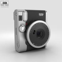 Fujifilm Instax Mini 90 Neo Classic Black 3D Model