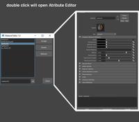 Material Editor lite 1.0.0 for Maya (maya script)