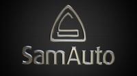 sam auto logo 3D Model