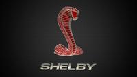shelby logo 2 3D Model