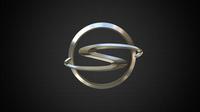 shuanghuan logo 3D Model