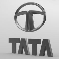 tata logo 2 3D Model