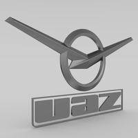 uaz_logo 3D Model