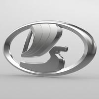 vaz logo 3D Model