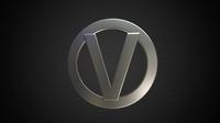vortex logo 3D Model