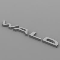 wald_logo 3D Model