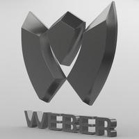 weber_logo 3D Model