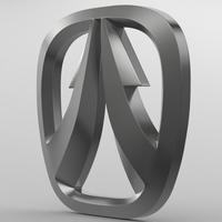 weiwang_logo 3D Model