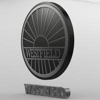 westfield_logo 3D Model