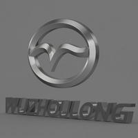 wuzhoulong_logo 3D Model