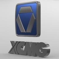 xcmg_logo 3D Model