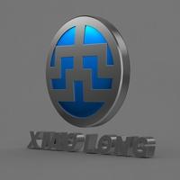 xiao long_logo 3D Model