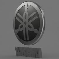 yamaha_logo 3D Model