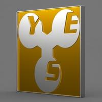 yes_logo 3D Model