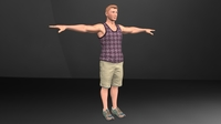 Alex character rig 0.0.2 for Maya