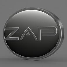 zap logo 2 3D Model