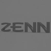 zenn logo 2 3D Model