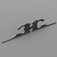 zis logo 3 3D Model