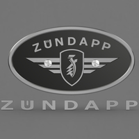 Zundapp logo 3D Model