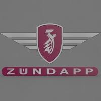 Zundapp logo 2 3D Model