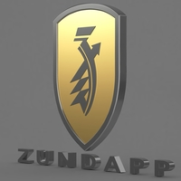 Zundapp logo 3 3D Model