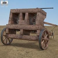 Ballista 3D Model