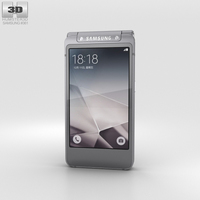 Samsung W2016 Gray 3D Model