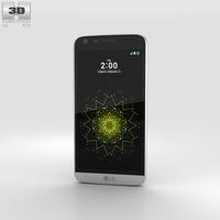 LG G5 Silver 3D Model