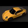 Porsche 911 Carrera T Coupe (991) 2018 3D Model