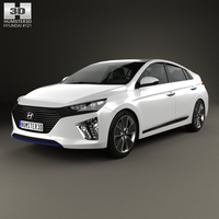 Hyundai Ioniq 2017 3D Model