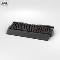 Asus ROG GK2000 Keyboard 3D Model