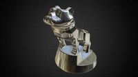 Hood ornament mack 3D Model