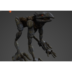 Roamer (Quadruped) 3D Model