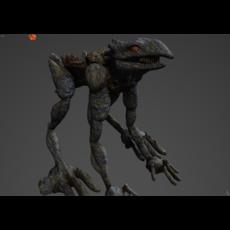 Roamer (Quadruped) 3D Model