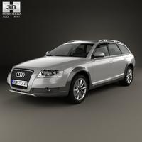 Audi A6 (C6) Allroad 2006 3D Model